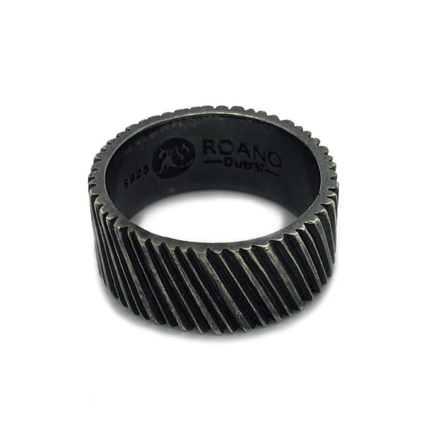 Oxidised Silver Ring - Roano Collection