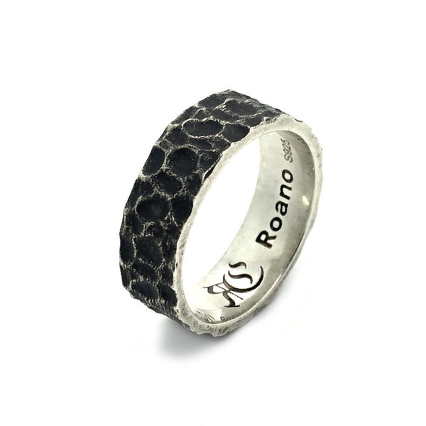 Hammered Silver Ring - Roano Collection