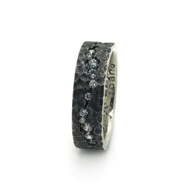 The Moonlight Ring - Sterling Silver - Roano Collection