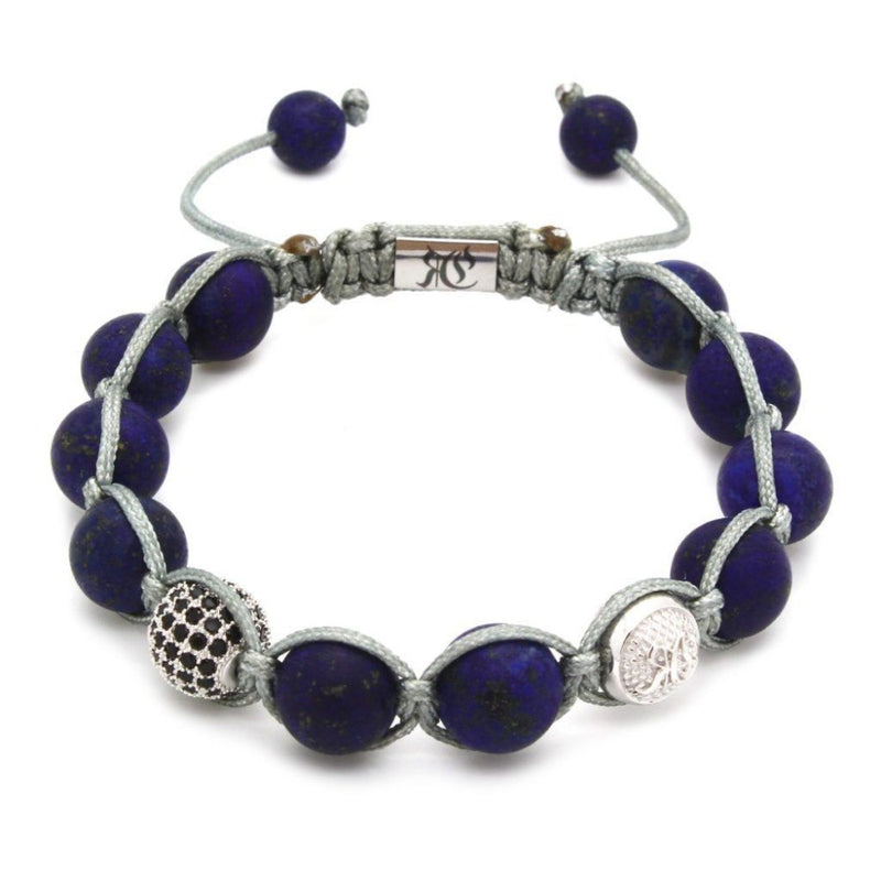Signature Matte Lapis Lazuli Shamballa - Roano Collection