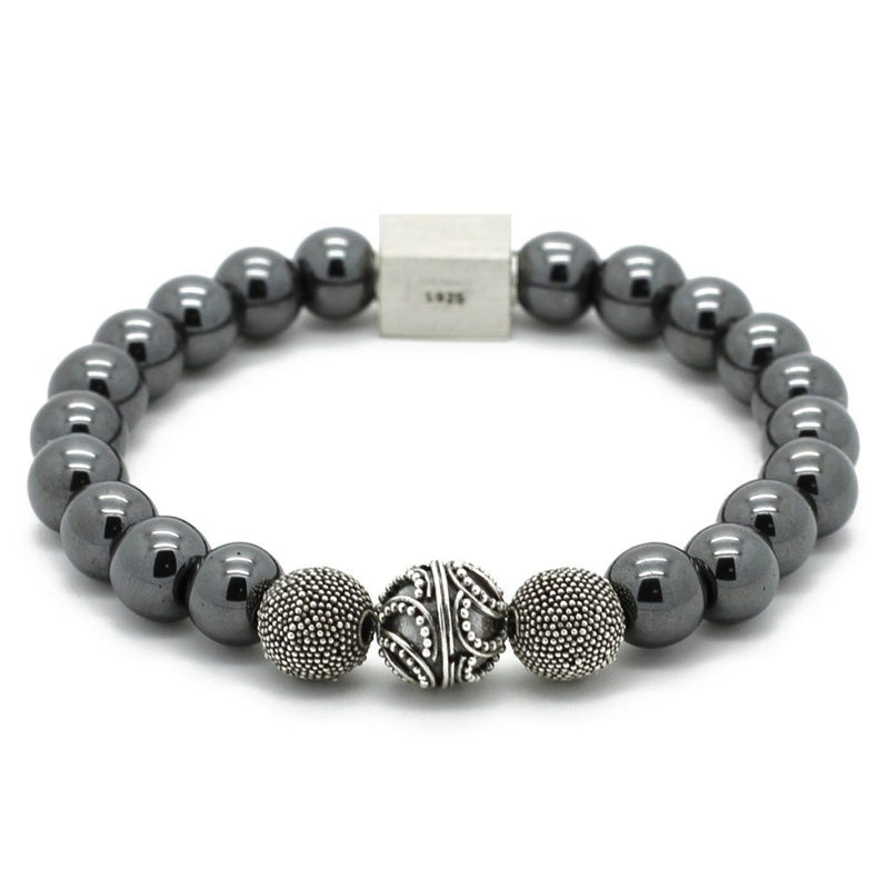 Premium Hematite Bracelet - Roano Collection
