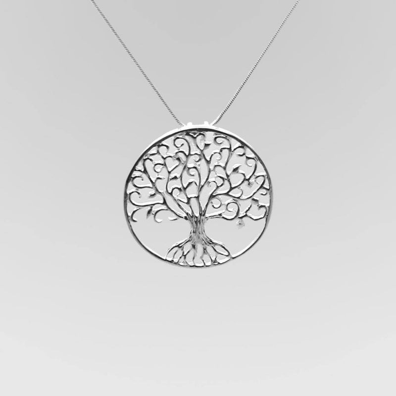 Tree of Life Pendant - Sterling Silver - Roano Collection