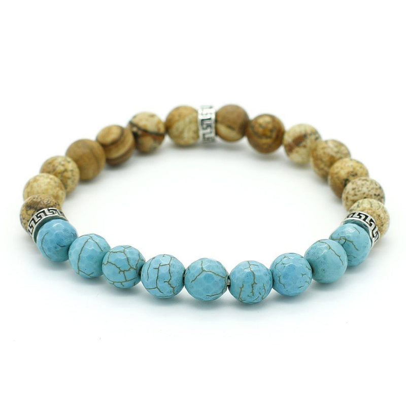 Blue & brown Bracelet