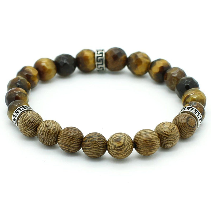 Simple Tiger Eye Bracelet