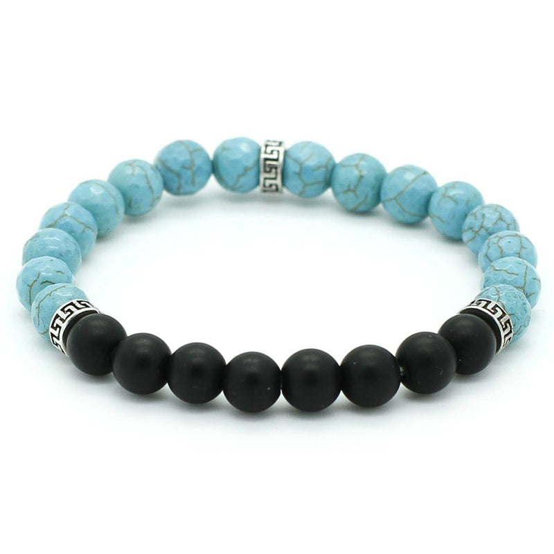 The Simple Blue and Black Bracelet