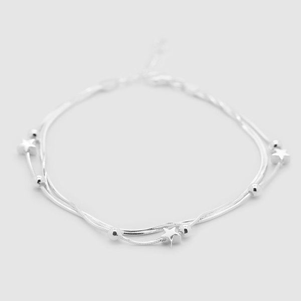Stars and Dots Bracelet - Sterling Silver Sterling Silver Bracelet Roano Collection
