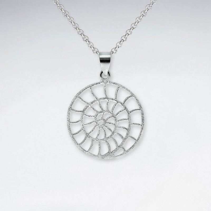 Women Silver Shell Pendant - Roano Collection