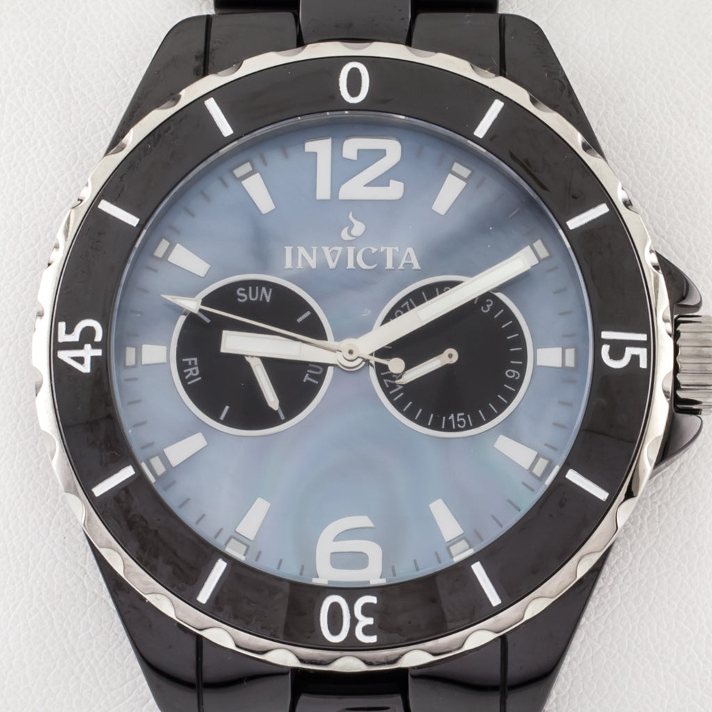 Invicta Men's Ceramics Watch Model 0307