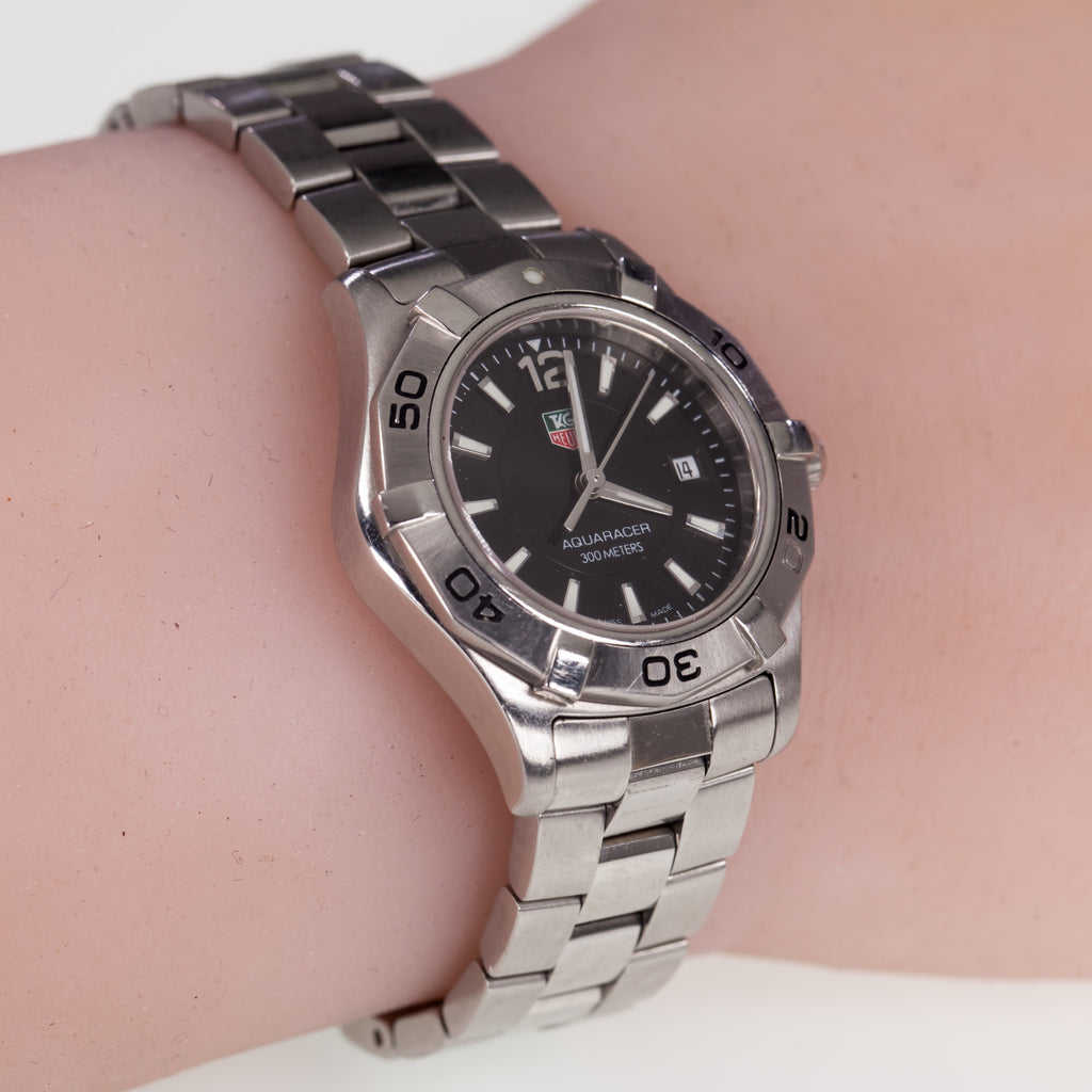 Tag Heuer Women's Stainless Steel Quartz Aquaracer WAF1410 Watch