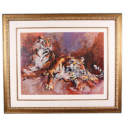 """Siberians"" by Mark King Limited Edition Signed & #d Framed Serigraph 144/295"