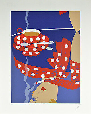 """Reflection"" By Erté Signed Artist's Proof AP Lithograph 25""x20"""
