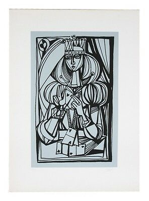 """Queen"" by Yossi Stern Lithograph on Paper Limited Edition of 90 w/ CoA"
