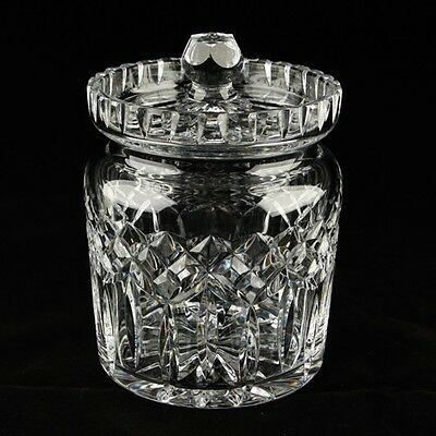 Waterford Crystal Lismore Biscuit Barrel and Lid in Original Box