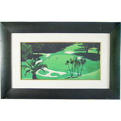 """Demaret, Hogan, Nelson & Snead Exhibition Play"" by Harry Fredman Signed Giclee"