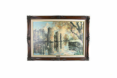 """Bodiam Twilight"" By Marty Bell Signed Limited Edition Print #67/900 w/ CoA"