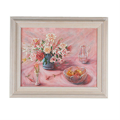 Untitled (Floral Still Life) By Anthony Sidoni 2002 Signed Oil on Canvas