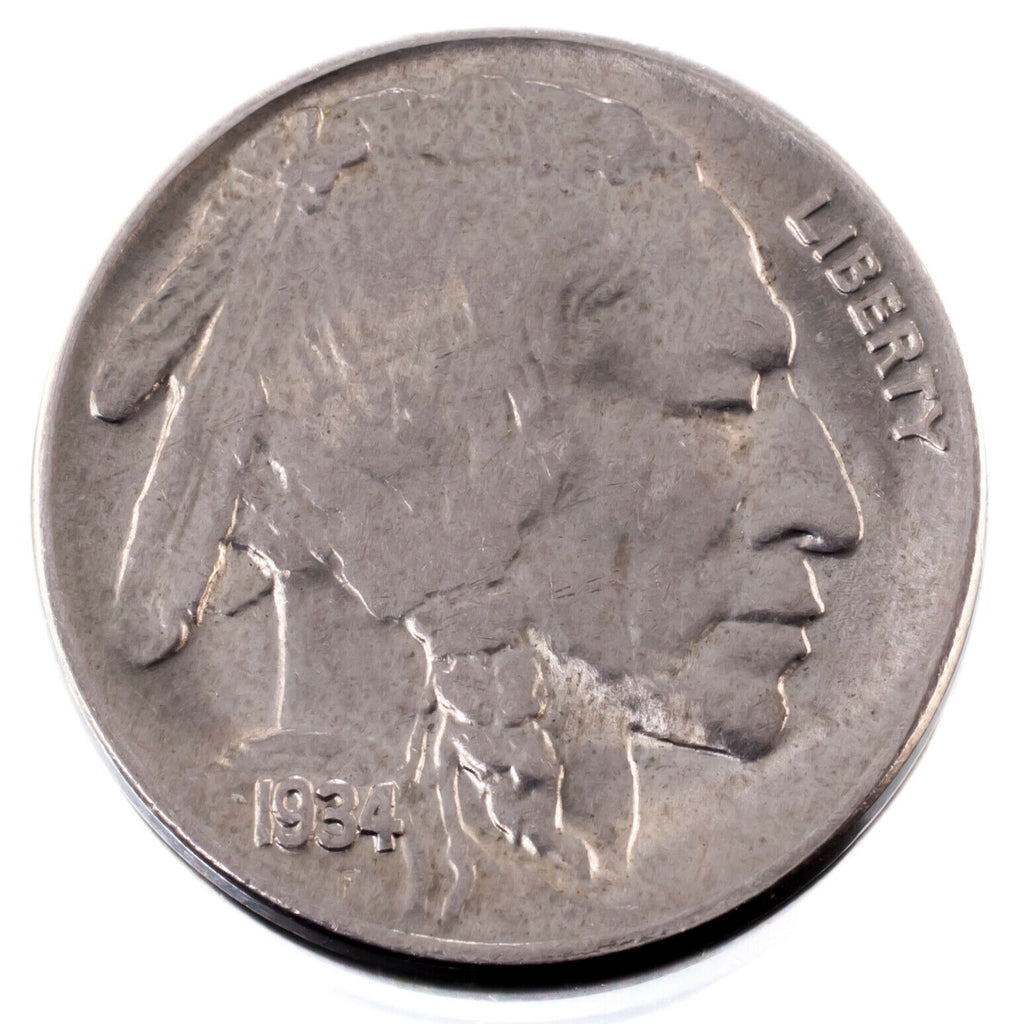 1934 5C Buffalo Nickel in Choice BU Condition, Excellent Eye Appeal & Luster