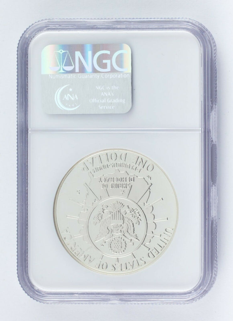 1991-S S$1 Mount Rushmore Silver Commemorative NGC PF69 Ultra Cameo