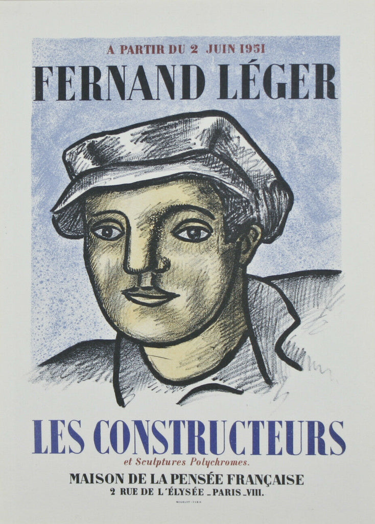 Collection of (3) Fernand Leger Lithographs from Fernand Mourlot Book