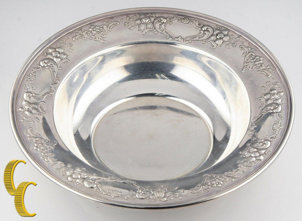 Chantilly Floral-Gorham Sterling Silver 10 inch Bowl Model #1027