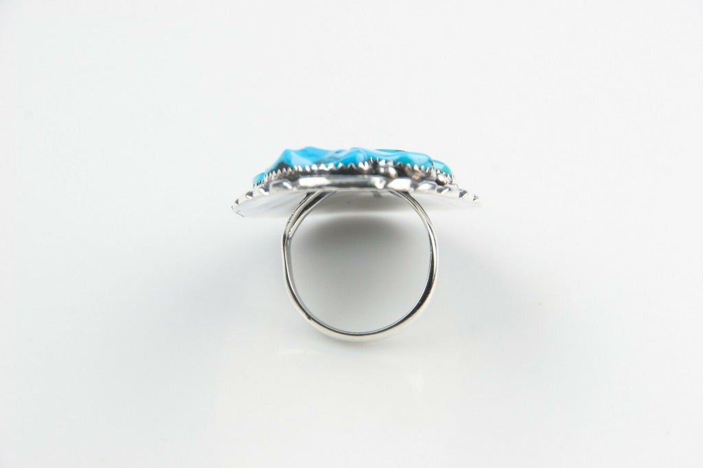 Benny Touchine Navajo Turquoise Nugget Ring