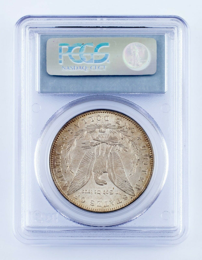 1898-O $1 Silver Morgan Dollar Graded by PCGS as MS-63! Gorgeous Morgan!