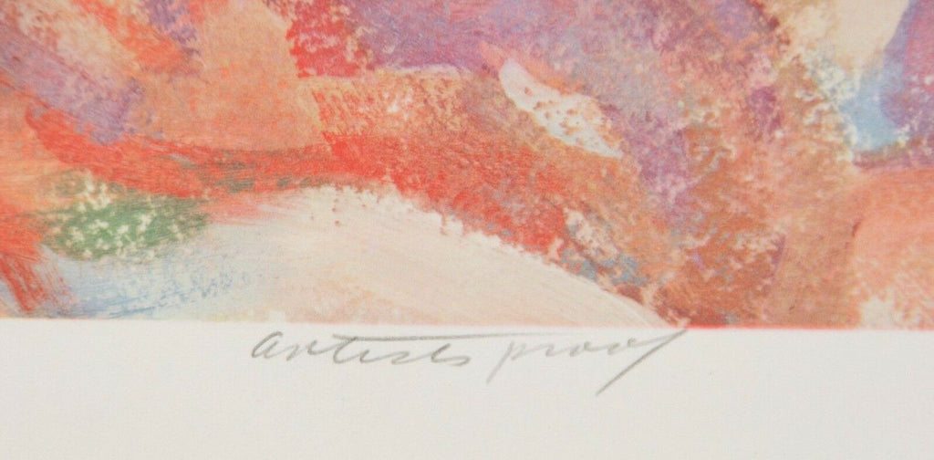 """Dancing"" by Anthony Toney Lithograph on Paper Artist's Proof 26"" x 19"""