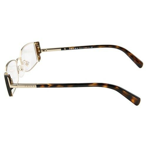 Authentic Prada Eyeglasses Tortoise Shell w/ Original Case VPR61N 51□17 20AU-1