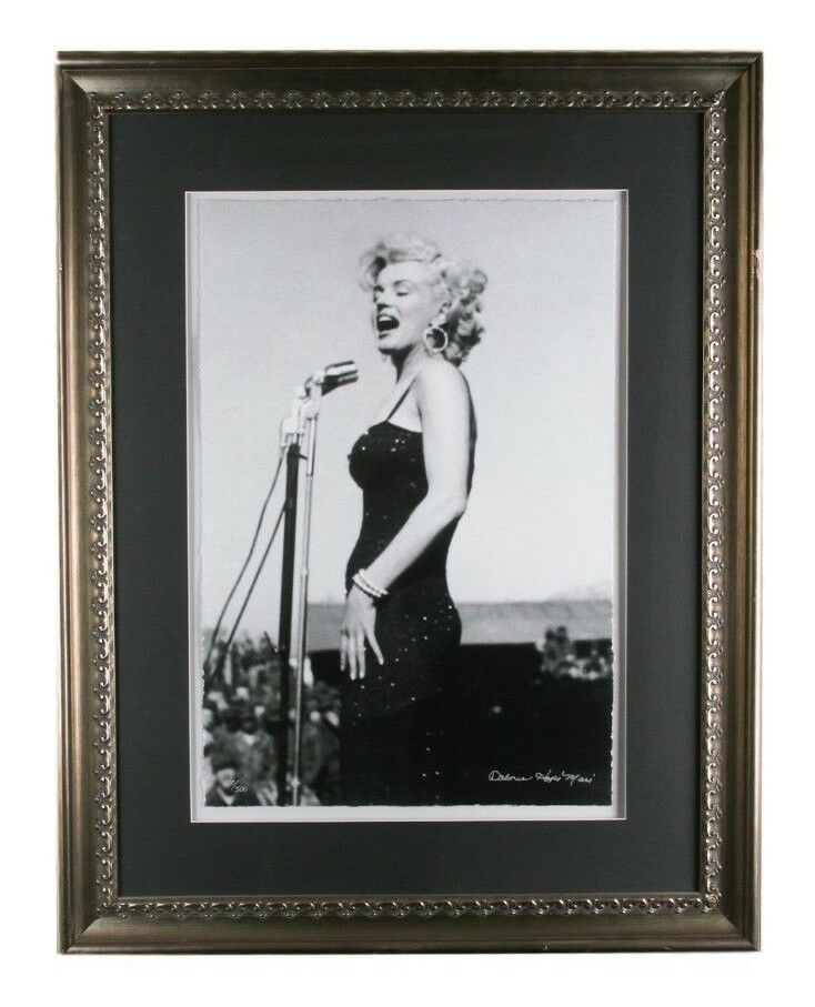 LE 100/500 Giclee Photo Print of Marilyn Monroe Signed by Dolores Hope Masi