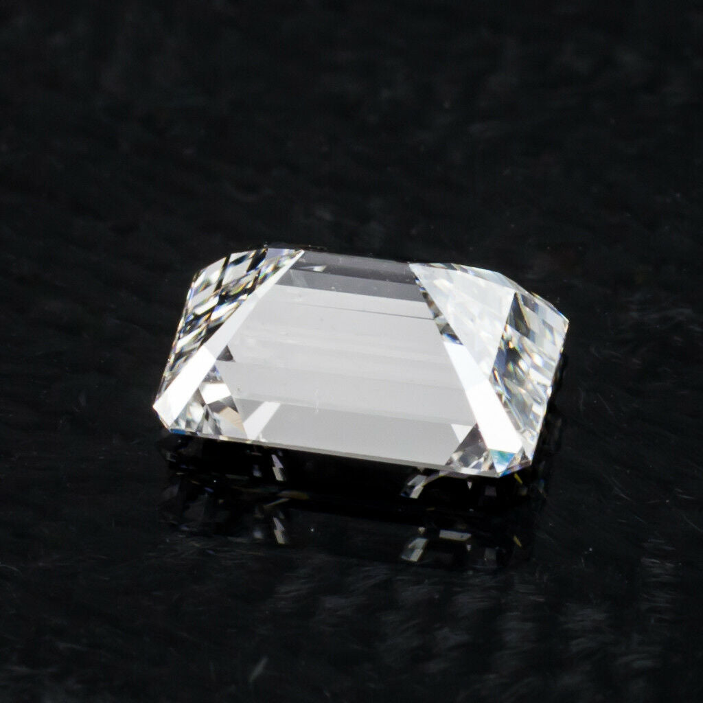 1.00 Carat Loose F / VS2 Emerald Cut Diamond GIA Certified