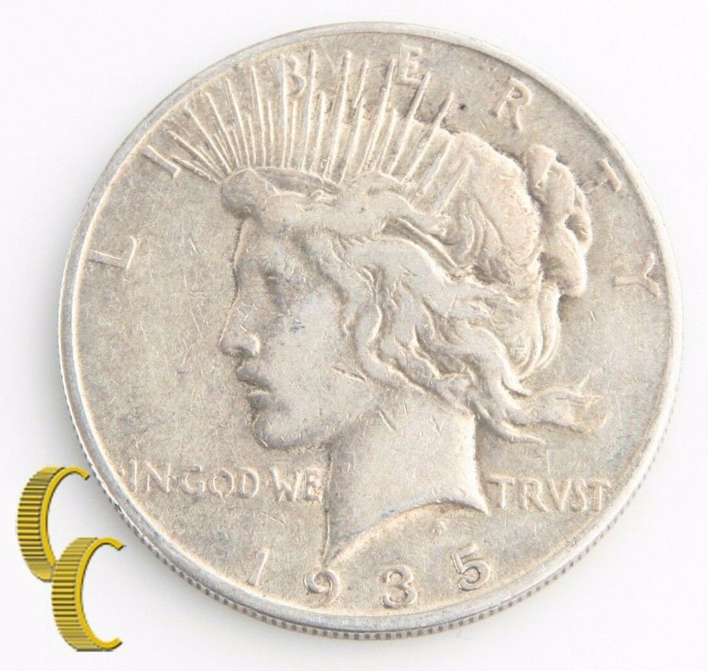Peace Dollar Roll (Very Good-Fine, 20 coins) 1934D 1934S 1935 1935S KM-150