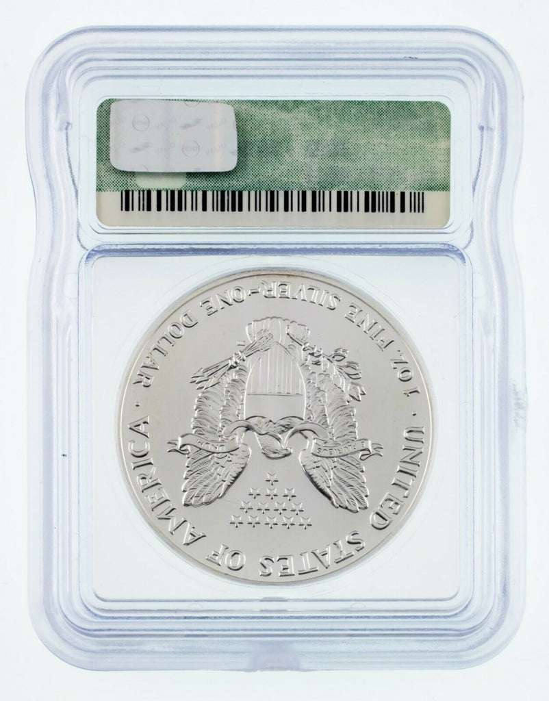 1991 $1 Silver American Eagle Graded by ICG as MS-69! Early Eagle!
