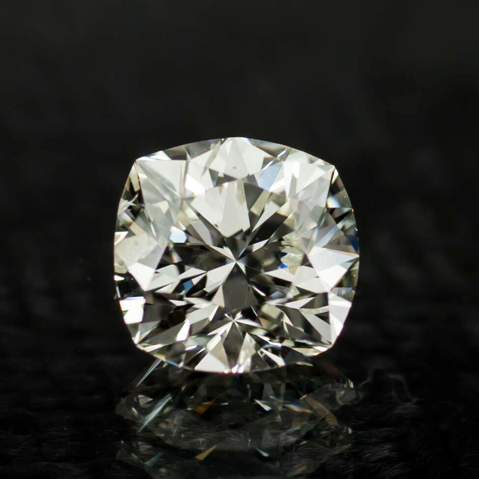 1.07 Carat Loose J / I1 Square Modified Brilliant Diamond GIA Certified