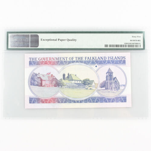 1984 Falkland Islands One Pound Gem UNC-65 EPQ £1 British Administration Pick-13