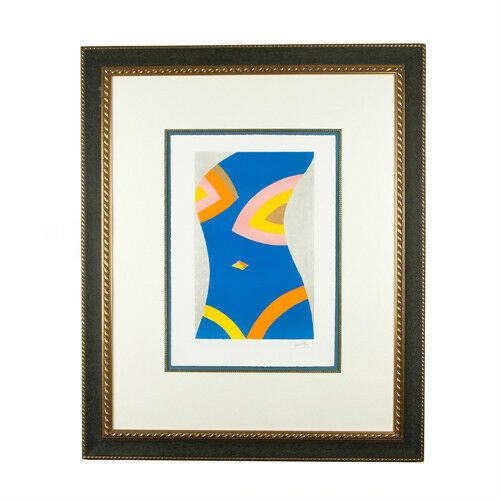 Untitled (Blue Torso) By Emilio Pucci Signed Limited Edition #10/100 Lithograph