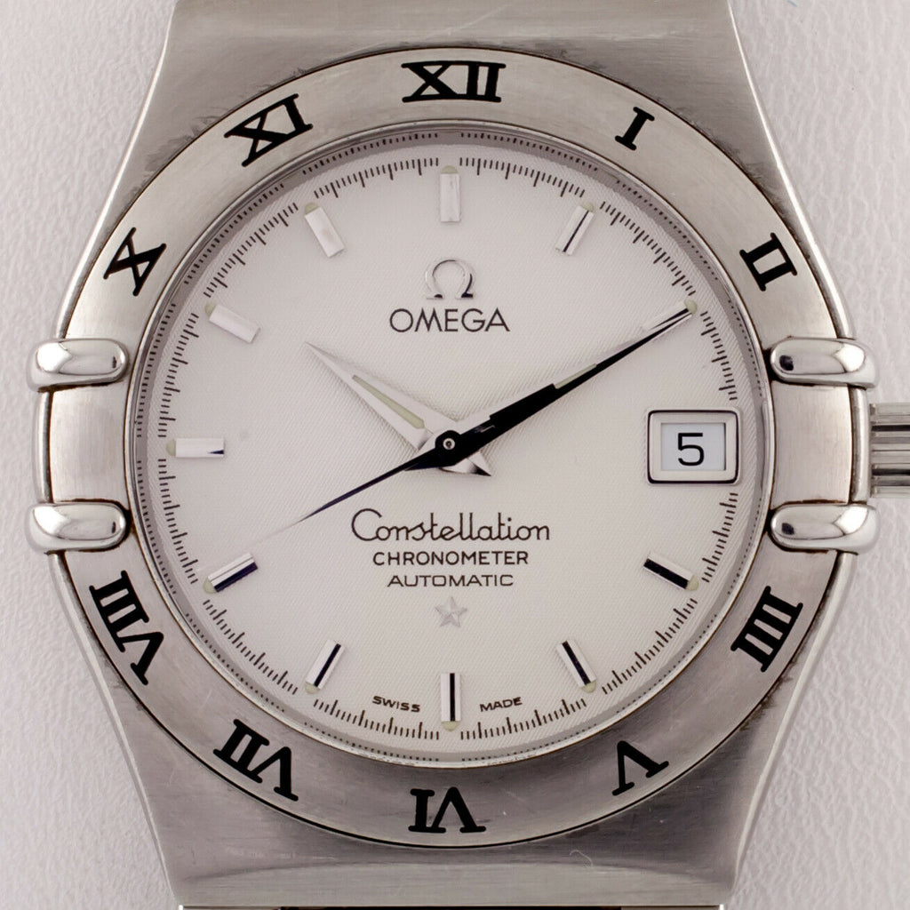 Omega Ω Constellation Chronometer Stainless Steel Men's Automatic Watch