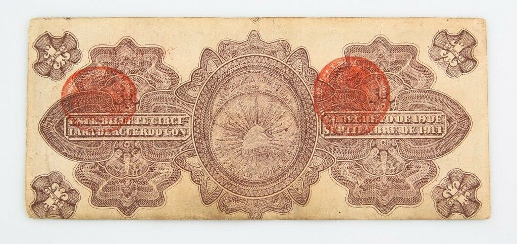 1914 Mexico Peso Notes Lot (11) VF Gobierno Provisional Very Fine 701b 702b 704