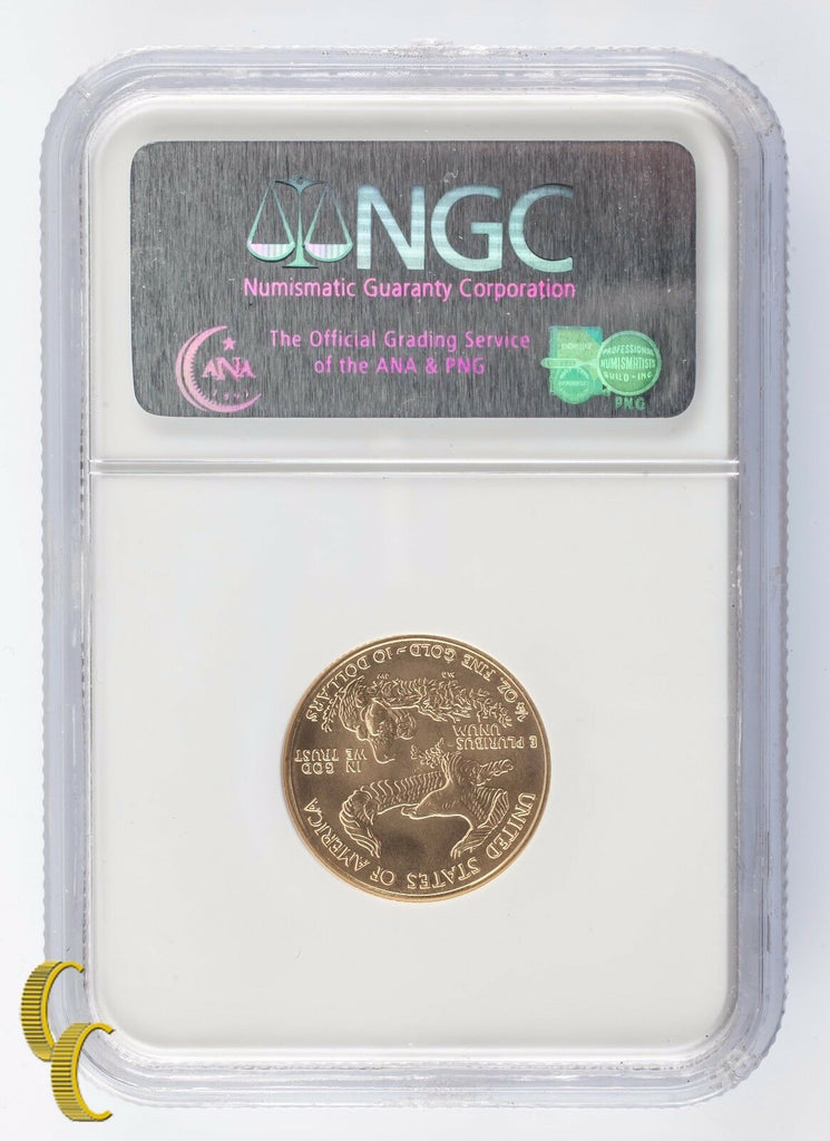 2006 G$10 American Gold Eagle 1/4 oz. Bullion Graded MS69 by NGC Nice!