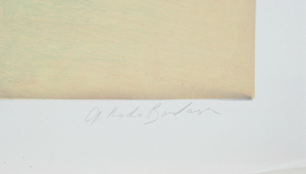 """Boy With Lamb"" By Graciela Rodo Boulanger Signed LE #145/150 Lithograph w/ COA"