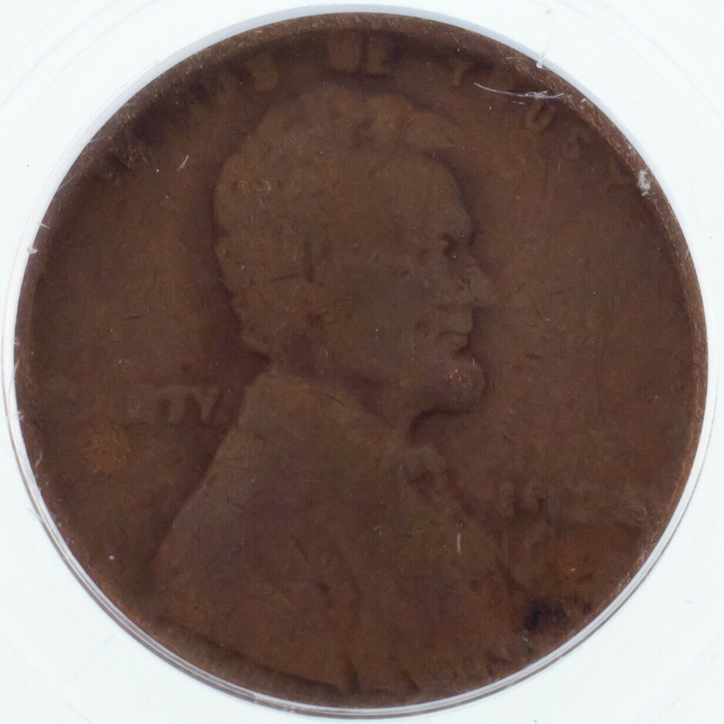 1922-D 1C Wheat Penny Weak D Graded by PCGS as VG-08! Gorgeous!