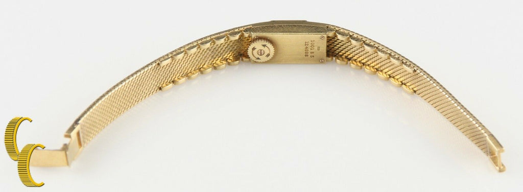 Piaget Women's Solid 18k Yellow Gold Vintage Delicate Hand-Winding Watch