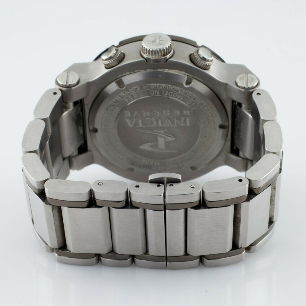 INVICTA Men's Ocean Reef Quartz Watch Model 1854 Stainless Steel