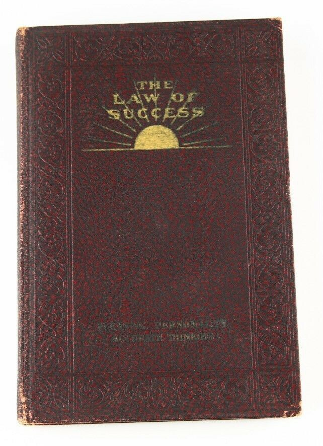 """The Laws of Success"" by Napoleon Hill 1939 Edition 8 Vol. The Ralston Society"