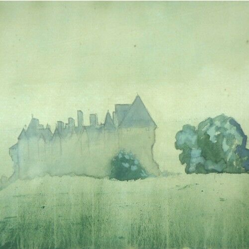 Chateau Series by Arthur Bowen Davies Watercolor on Paper Signed & Titled