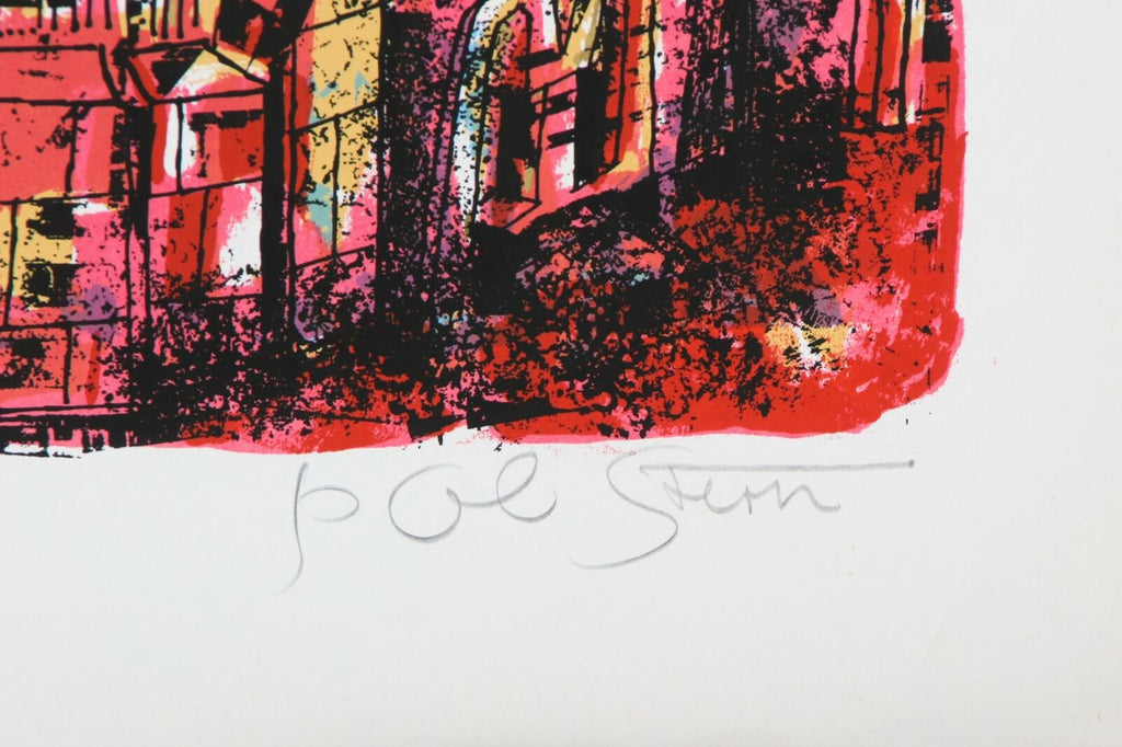 """City of King David"" by Yossi Stern Lithograph on Paper Limited Ed of 150 w/ CoA"