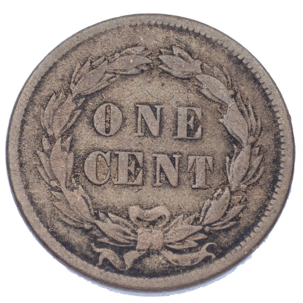 1859 1C Indian Head Cent (Very Fine, VF Condition)