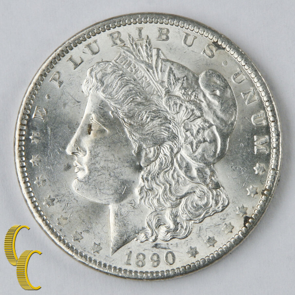 1890  Morgan Dollar $1 (BU) Choice Brilliant Uncirculated