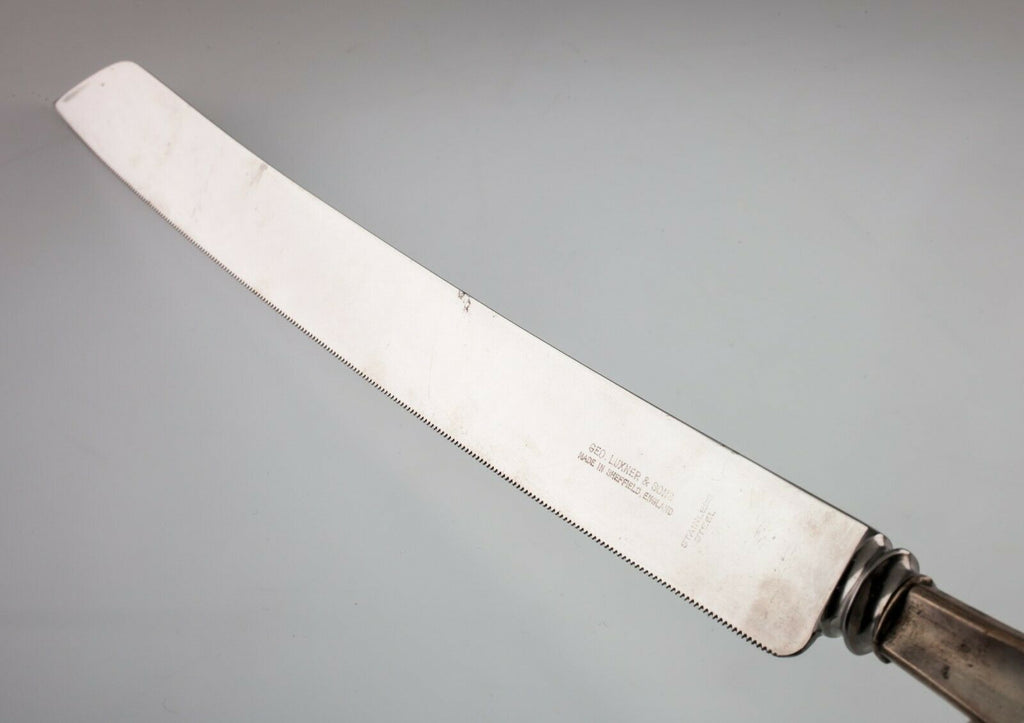 Geo Luxner & Sons Sterling Silver Wedding Cake Knife