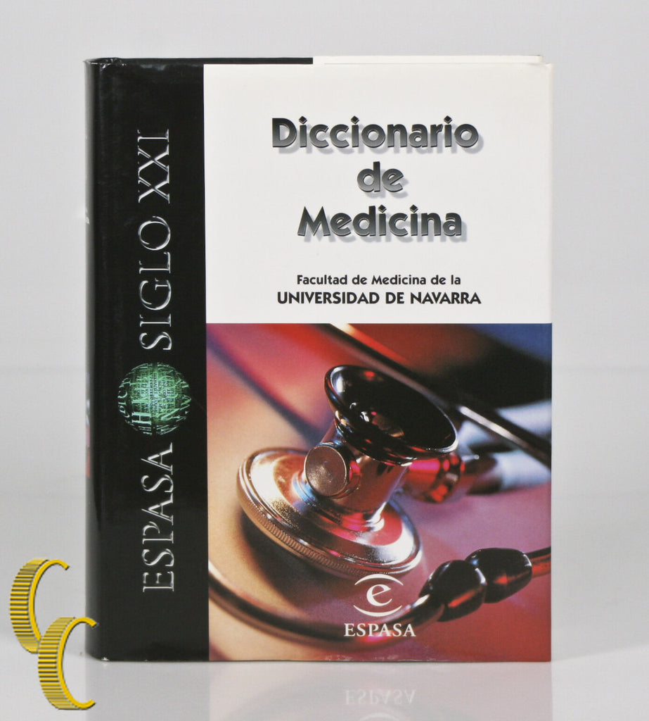Diccionario de Medicina Espasa Siglo XXI Published in 2006 Hardcover w/ CD