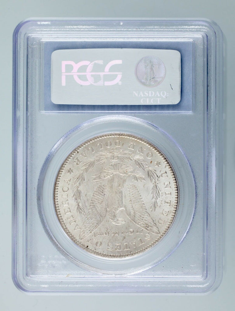 1878-CC $1 Silver Morgan Dollar Graded by PCGS as MS-62! Gorgeous Morgan!